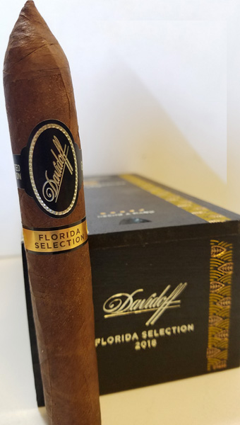 Davidoff Florida Selection 2018 cigar and box